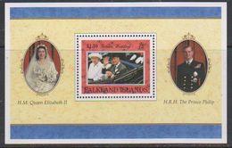 Falkland Islands 1997 Golden Wedding M/s ** Mnh (39854) - Falklandeilanden