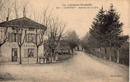 54 CEINTREY  Avenue De La Gare - Other Municipalities