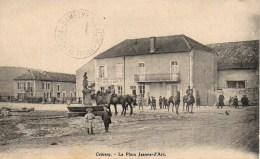 88 COUSSEY  La Place Jeanne D'Arc - Autres Communes
