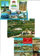 PARCS MINIATURES /  Lot De 45 Cartes Postales Modernes écrites - Cartes Postales