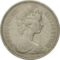 Monnaie, Grande-Bretagne, Elizabeth II, 10 New Pence, 1973, TB+, Copper-nickel - 1971-… : Monnaies Décimales