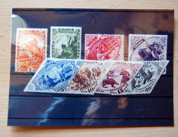 TOUVA - 1934 Complete Series - Unused With Gum Slightly Deteriorated By Age - Rare - Tuva