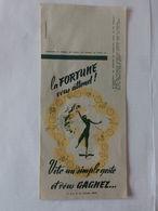 Ancienne Publicité Pour Les Billets De Loterie Des Neufs Provinces ... N02 - Billets De Loterie