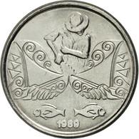 Monnaie, Brésil, 5 Centavos, 1989, TB+, Stainless Steel, KM:612 - Brésil