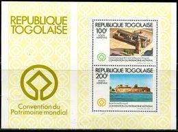 BG2305 Togo 1981 World Heritage Church Building S/S MNH - Stamps