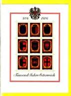 AUTRICHE 1976 BLOC ARMOIRIES  YVERT N°B9 NEUF MLH* - Blocks & Sheetlets & Panes