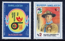 Bangladesh 1982 Set Of Stamps To Celebrate 75th Anniversary Of The Boy Scout Movement. - Bangladesh
