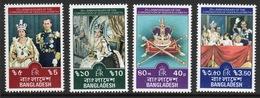 Bangladesh 1978 Set Of Stamps To Celebrate 25th Anniversary Of The Coronation. - Bangladesh