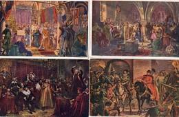LOT 9 CARTES POSTALES ANCIENNES. POLOGNE. JAN MATEJKO. En Achat Immédiat - Poland