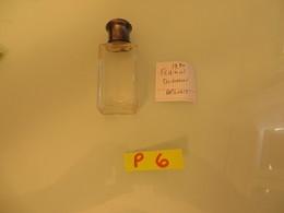 BOUCHON ARGENT , Miniature Parfums,tres Joli  ,, TRES PETIT PRIX - Vintage Miniatures (until 1960)
