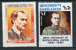 Bangladesh 1981 Set Of Stamps Issued To Celebrate Birth Centenary Of Kemal Ataturk. - Bangladesh
