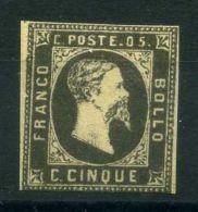 "SARDAIGNE ( POSTE ) Y&T N°  1 "" FAUX  ""   TIMBRE  NEUF  SANS  TRACE  DE  CHARNIERE . - Sardegna"