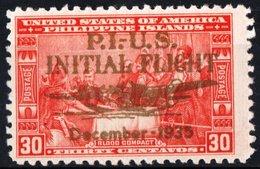 FILIPPINE, PHILIPPINES, POSTA AEREA, AIRMAIL, COMMEMORATIVO, AVIAZIONE, 1935, NUOVO (MLH*),  Michel 378   Scott C53 - Filipinas