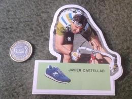 PEGATINA ADHESIVO STICKER KELME CICLISMO JAVIER CASTELLAR EQUIPO CYCLISME CYCLISTE CICLISTA. SPAIN ESPAGNE. CYCLING VER - Pegatinas