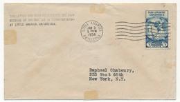 "Enveloppe USA Oblitérée ""Little America Antarctica"" 31/1/1934 - Timbres"