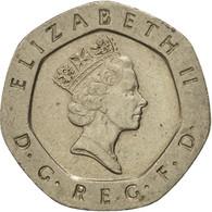 Monnaie, Grande-Bretagne, Elizabeth II, 20 Pence, 1993, TB+, Copper-nickel - 1971-… : Monnaies Décimales