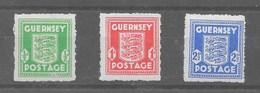 Serie De Guernesey Nº Michel 1/3 ** - Ocupación 1938 – 45