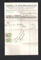 OUDE FACTUUR  -  DE GENDT GEBROEDERS - BAESRODE -  FACTUUR DD. 23 AUGUSTUS 1934  (OD 363) - 1900 – 1949