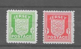 Serie De Jersey Nº Michel 1/2y ** - Occupation 1938-45
