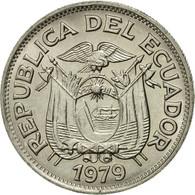 Monnaie, Équateur, 50 Centavos, Cincuenta, 1979, TTB, Nickel Clad Steel, KM:81 - Ecuador