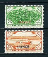 Pakistán  Nº Yvert  Servicio-51-52  En Nuevo - Pakistán