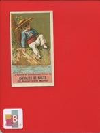 Paris Chevalier De Malte Boulevard Saint-Martin Jolie Chromo Pêcheur Mois De Juillet Costume Porte-bonheur - Chromo