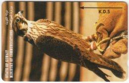 KUWAIT A-270 Magnetic Comm. - Animal, Bird, Falcon - 24KWTB - Used - Kuwait