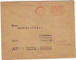 S672. LETTRE EMA SAARBRÜCKEN SAARGEBIET EN DATE DU 05/04/1933 - 1920-35 Saargebiet – Abstimmungsgebiet
