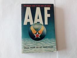 Livre De 1944 De 380 Pages De L'Army Air Forces . Avions - Aviation.. N26 - Livres
