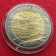 Burkina Faso 50 Francs 2017 Andrea Doria Ship Unc - Burkina Faso
