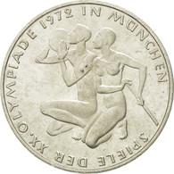 Monnaie, République Fédérale Allemande, 10 Mark, 1972, Karlsruhe, TTB+ - [10] Commémoratives
