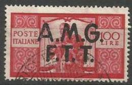 Trieste Zone A - 1947 Work, Justice & Family 100L FU  SG 17  Sc 14 - 7. Trieste
