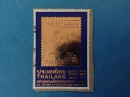 1999 TAILANDIA THAILAND FRANCOBOLLO USATO STAMP USED - ANNIVERSARIO RE 100 - Tailandia