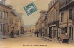 14 - CALVADOS / 141712 - La Rivière Saint Sauveur - Grande Rue - Beau Cliché - Autres Communes