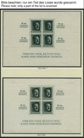 SAMMLUNGEN, LOTS *, **, Ungebrauchte Sammlung Dt. Reich Von 1933-45 Im Falzlosalbum, Ab 1935 Recht Komplett, U.a. Mit Bl - Deutschland
