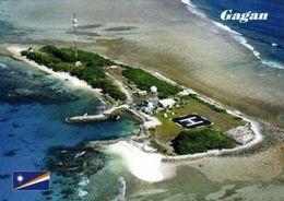 1 AK Marshall Islands - Kwajalein Atoll * Blick Auf Die Insel Gagan - Luftbildaufnahme * - Marshall Islands