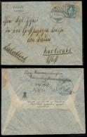 Switzerland - XX. 1907 (5 Oct). Royalty. St. Moritz - Germany. Fkd Env Sent By Prince Waldemar Of Prussia / 1885 - 1945. - Switzerland
