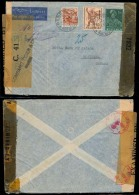 Switzerland - XX. 1943 (20 Oct). Geneve - Canada. Fkd Env. British C-41 + US. - Unclassified
