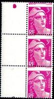 Variété Marianne De Gandon N° 806, Piquage à Cheval - Variétés Et Curiosités
