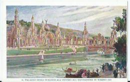 Torino - Il Palazzo Degli Italiani All'Estero All'Esposizione Di Torino 1911 - Alfieri & Lacroix - Expositions