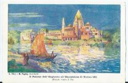 Torino - Il Palazzo Dell'Ungheria All'Esposizione Di Torino 1911 - Fronte Verso Il Po - P. Celanza E.C. - Expositions