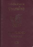 Thailand Biometric  Passport ,  Reisepass , Paspoort , Passeport , Reispas 2009 - Historische Documenten