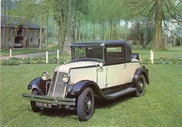 Renault Monastella  -  1928  -  Carte Postale - Voitures De Tourisme