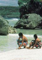 1 AK Niue Island * Ansicht Dieser Insel Im Pazifik - A Scene Looking South From Avatele Bay * - Ansichtskarten
