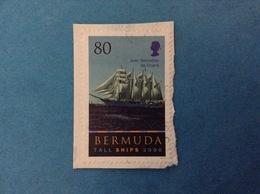 2000 BERMUDA FRANCOBOLLO USATO STAMP USED - TALL SHIPS JUAN SEBASTIAN DE ELCANO NAVE VELIERO - Bermuda