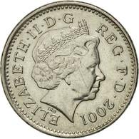 Monnaie, Grande-Bretagne, Elizabeth II, 10 Pence, 2001, TTB, Copper-nickel - 1971-… : Monnaies Décimales