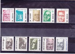 SAINT MARIN 1982 Série Courante Sciences Yvert 1045-1054 NEUF** MNH - Saint-Marin