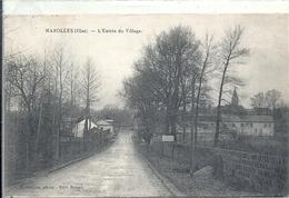 OISE - 60 - MAROLLES Près La Ferté Milon - Entrée Du Village - France