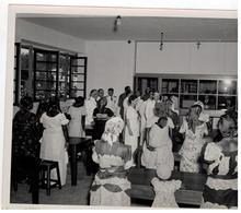 Le Voyage De SAR Le Prince Régent Au Congo Belge à Léopoldville 1947,les Cours (originele Foto A.Da Cruz 24x18cm) - Congo Belge - Autres