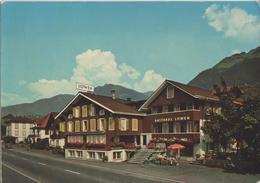 Gasthaus Löwen, Fam. Scherrer-v. Flüe - Sachseln Am Sarnersee - Photo: Stump - OW Obwald